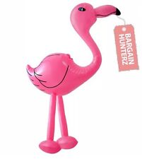 Pink Flamingo 64cm Inflatable Blow Up Animal Party Decoration Novelty Pool Toy