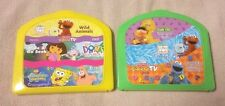 Lot 2 Fisher-Price InteracTV DVD Learning System DVDs w/ Cases & Activity Cards