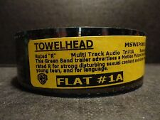 TOWELHEAD 35mm movie trailer T#1A preview film collectible cells FLAT 2min10