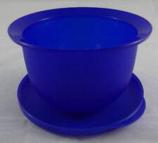 Tupperware J 45 Junge Welle 550 ml Schüssel Dose mit Deckel Dunkelblau Blau Neu