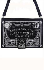 Ouija Board Black Hand Bag Purse Spirit Planchette Occult Goth Punk Alternative