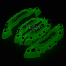 Brembo Disc 3D Luminous Brake Caliper Covers Front Rear Set Universal Car Truck