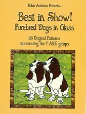 Best in Show! Purebred Dogs, AKC groups Stained Glass pattern Book