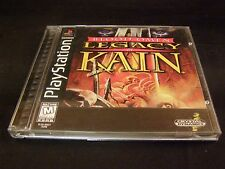 PS1 - Sony PlayStation 1 - Blood Omen: Legacy of Kain - Complete - VGC