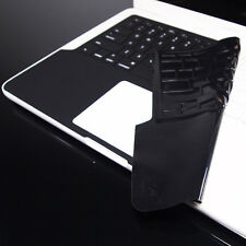 FULL SL BLACK Keyboard Skin Cover for Macbook White 13""