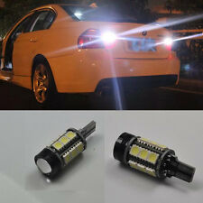 For BMW E90 2005-10 2x White Error Free LED Projector Reverse Back up Light Bulb