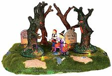 Lemax 24462 ARE THOSE TREES MOVING? Spooky Town Table Accent Animated Decor I