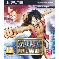 One Piece: Pirate Warriors (Sony PlayStation 3, 2012) Anime Manga Ban Dai TOEI