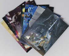 2013 Star Wars Illustrated One Sheet Reimagined insert set 1-9