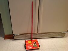 Vintage Toy Metal Tin Litho Susy Goose Sweeper 1950's Kiddie Brush and Toy Co
