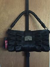 Harveys Seatbelt Bags Lola Baguette Black Purse