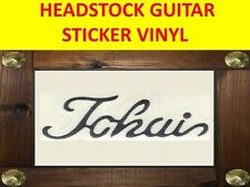 TOKA SILVER STICKER VINYL GUITAR AUFKLEBER VISIT OUR STORE WITH MANY MORE MODELS