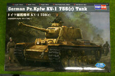 German Pz.kpfw Kv-1 756 (r) Tanque calcomanía Escala Hobby Boss 84818