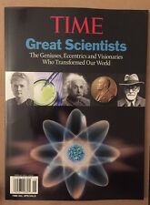 Time Special Great Scientists Who Transformed Our World 2014 FREE SHIPPING!