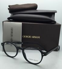 New GIORGIO ARMANI Eyeglasses AR 7004 5001 47-19 Matte Black on Black Frames