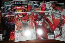Batwoman #1-18 lot Batman and Robin #1 -22 run new 52 sets