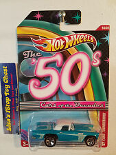 '57 Ford Thunderbird Hot Wheels 2011 Walmart Excl.Cars of the Decades 10/32 B18