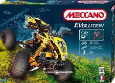 Meccano Quad, 2 Modelle,  210 Teile ,Meschanische Bauteile,Zahnräder,ab 8 Jahre