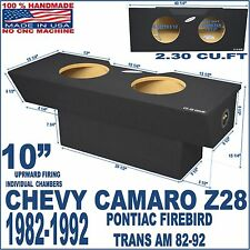 "1982-92 CHEVY CAMARO SUB BOX Z28 10"" PONTIAC FIREBIRD SUBWOOFER ENCLOSURE"