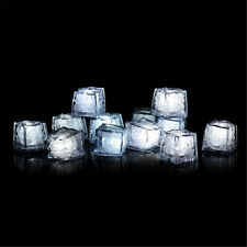 Lot 12pcs Submersible Lights LED Ice Cubes for Wedding Party Dector
