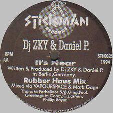 DJ ZKY & DANIEL P - Didn't You Know - 1994 - stickman - STIK 022 - Usos