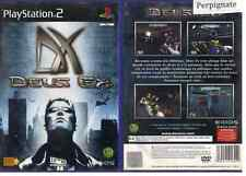 DEUS EX - SONY - PS2 - PAL FR