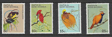 P.N.G 1970 Fauna Conservation Birds of Paradise Set of 4