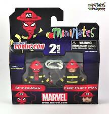 Marvel Minimates NYCC Exclusive Spider-Man and Fire Chief MAX