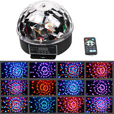 DJ Club Disco Party Bar RGB Crystal LED Ball Bulb Projector Stage Effect Light