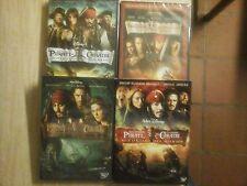 Pirati dei Caraibi - I Quattro Film (4 DVD) - ITALIANI ORIGINALI SIGILLATI -