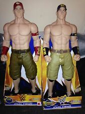 John Cena 31 Inch Deluxe Blue And Red Hat Figures WWE WWF By Wicked Cool Toys