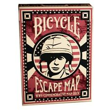 CARTE DA GIOCO BICYCLE  ESCAPE MAP,poker size