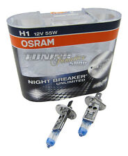 2x OSRAM h1 Nightbreaker Unlimited plus +110% 55w peras de cruce