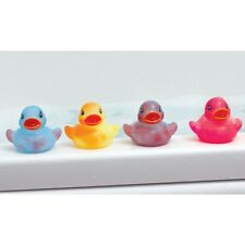 4 COLOUR CHANGING RUBBER DUCKS - KIDS BATH TOY BABY DUCK TIME PK 4PK PACK CHANGE