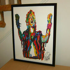 Billy Idol, Singer Songwriter, Vocals, Rebel Yell, Punk Rock 18x24 POSTER w/COA1