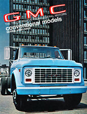 1970 GMC Truck Series 4500-6500 Original Sales Brochure Catalog