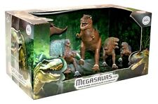Megasaurs 6 piece Jurassic Dinosaur Figurines for Childrens Toys & Games Figures