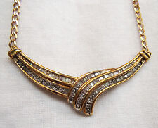 Diamond and Gold Necklace with Box & Valuation Certificate