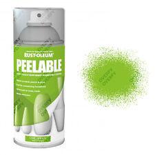 Rust-Oleum Rubberised Peelable Aerosol Spray Paints Matt Customise Home Objects
