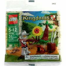 30062 TARGET PRACTICE castle kingdom knights lego NEW poly bag legos set