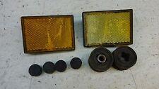 1979-83 Honda CX500 CX 500 Deluxe H1212' reflector set pair parts