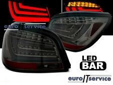 NUOVO COPPIA FANALI FARI POSTERIORI LDBMF0 BMW E60 2003-2007 SMOKE LED BAR