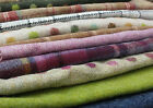 100% Wool Offcuts / Remnants / Tweed - Genuine Abraham Moon. 10 x large pieces!