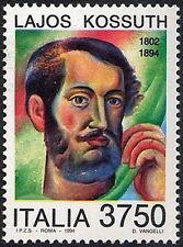 1994 ITALIA LAJOS KOSSUTH MNH **