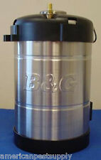B&G T-100 Stainless Steel Replacement Sprayer Tank  B&G Parts B&G Repair Parts