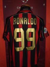 RONALDO MILAN 2006/2007 MAGLIA SHIRT CALCIO FOOTBALL MAILLOT JERSEY SOCCER