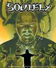 SOULFLY Sticker Tribal Face Logo NEW OFFICIAL MERCHANDISE Sepultura