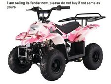 Kid ATV Quad Body Plastic Front & Rear Fender Taotao ATA-110B  110cc pink camo