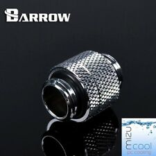 "Barrow G1/4"" Silver Rotary 15mm Anti-Twist Extender Male To Male - 157"