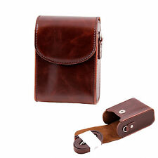 Leather Camera Case For Panasonic DMC FT25 SZ9 SZ3 TZ70 TZ57